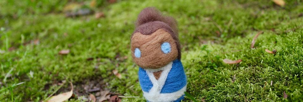 Felted Avatar Water Boy
