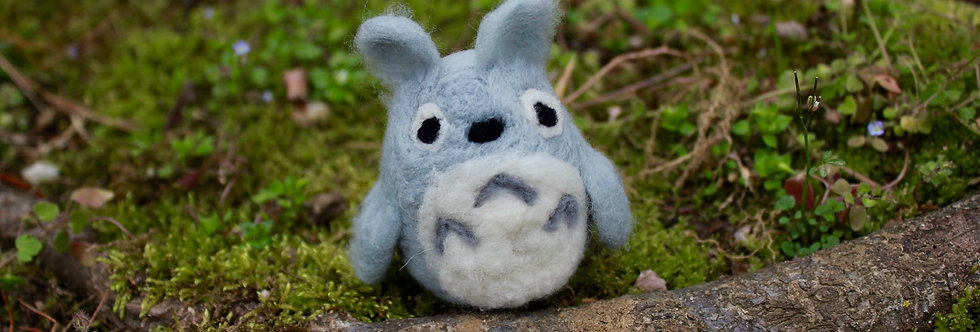Felted Bunny Creature