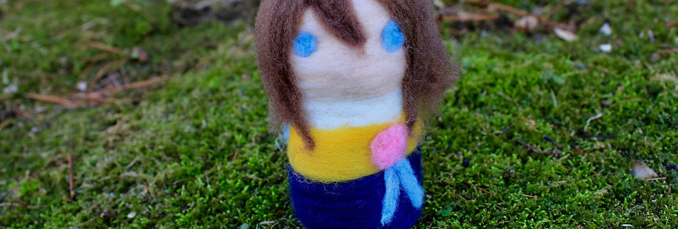 Felted Fantasy Summoner Girl