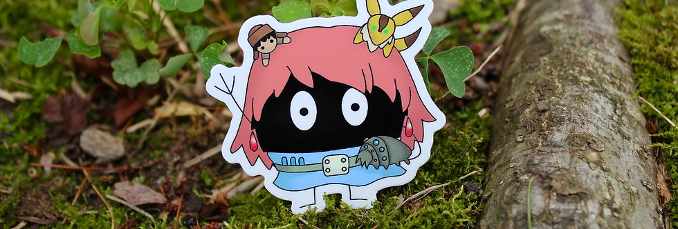 "Soot Sprite Wind Valley 2.5"" Vinyl Sticker"