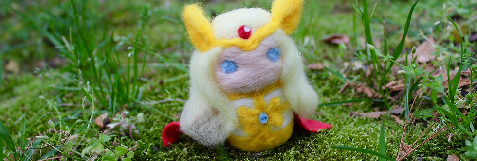 Felted She Powerful Princess