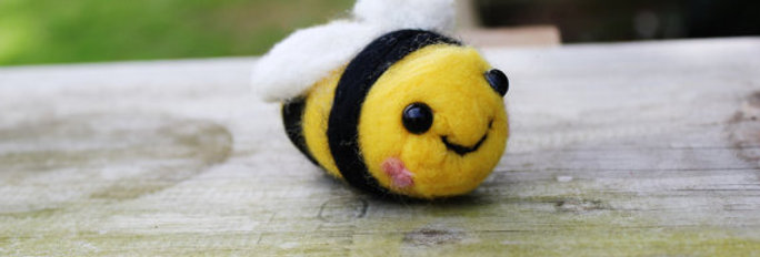 Felted Bumble Bee
