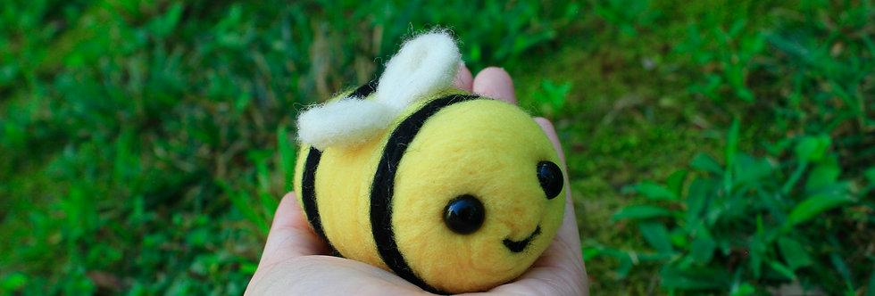 Felted Big Bumble Bee