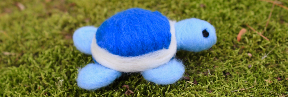 Felted Turtle (Choose Your Color)