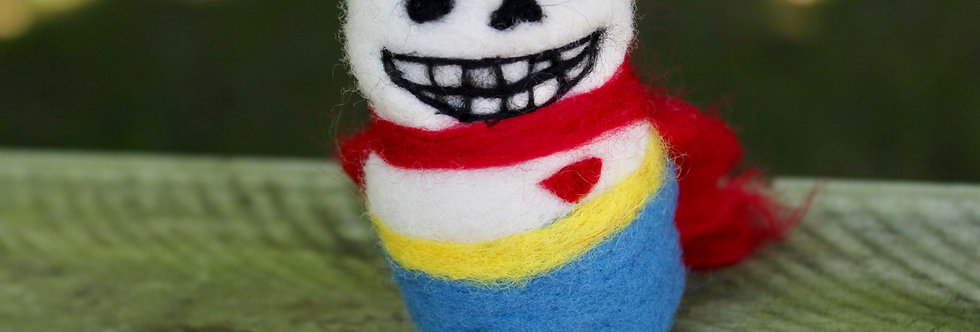 Felted Papyrus Sculpture