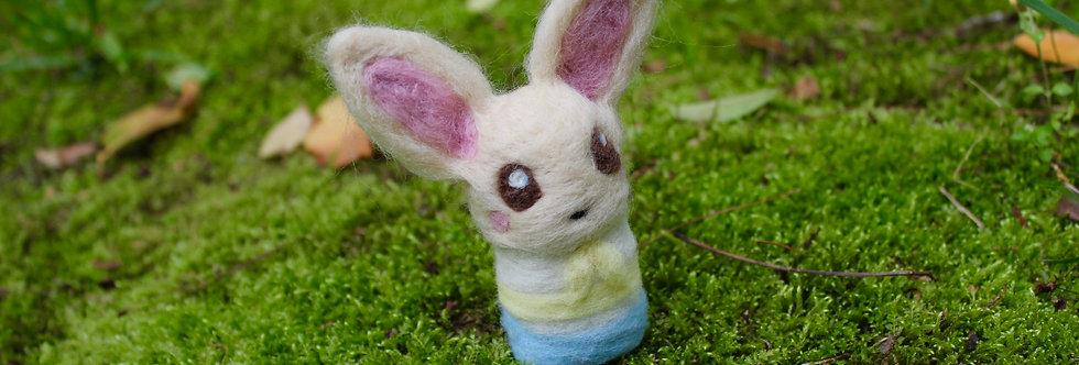 Felted Beast Star Bunny