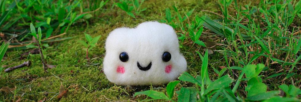 Felted Kawaii Baby Cloud