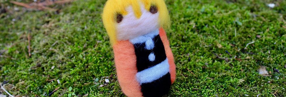 Felted Slayer Blonde Guy