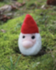 Felted Gnome Fairy Garden