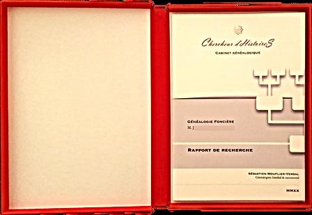 Chercheur d'Histoires - Cabinet Généalogique