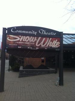 Snow White Sign