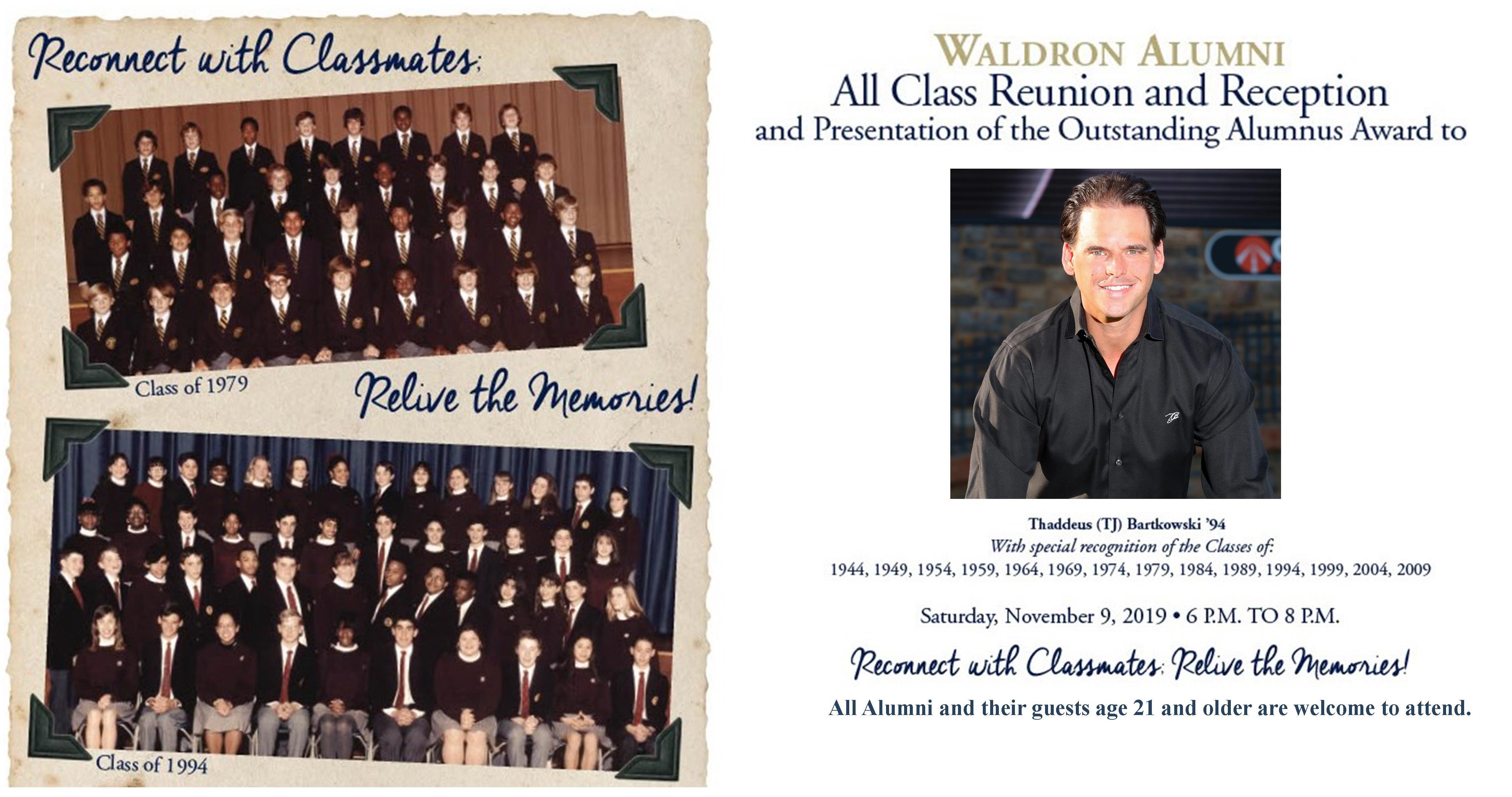 Alumni All Class Reunion & Reception