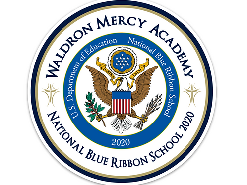 WMA Blue Ribbon Car Magnet