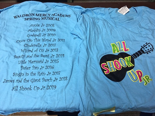 All Shook Up Theater T-Shirt