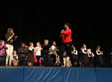 Waldron Mercy Academy Hosts Odunde365