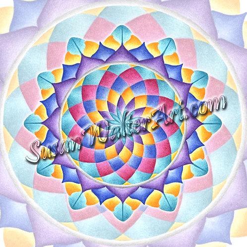 Solfeggio Mandala 948Hz, Cosmic/Universal Oneness