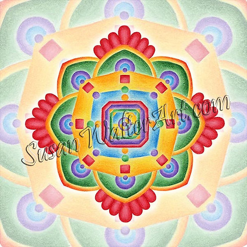 Solfeggio Mandala 516Hz, DNA Knowledge
