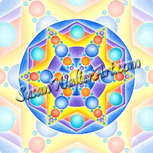 Solfeggio Mandala 531Hz, DNA Healing
