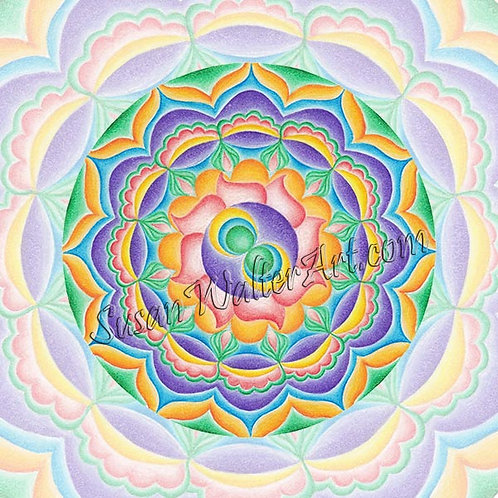 Mandala 477Hz, Connection with Angelic Realm