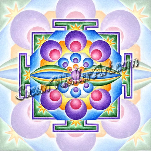 Solfeggio Mandala 318Hz, Release from belief systems