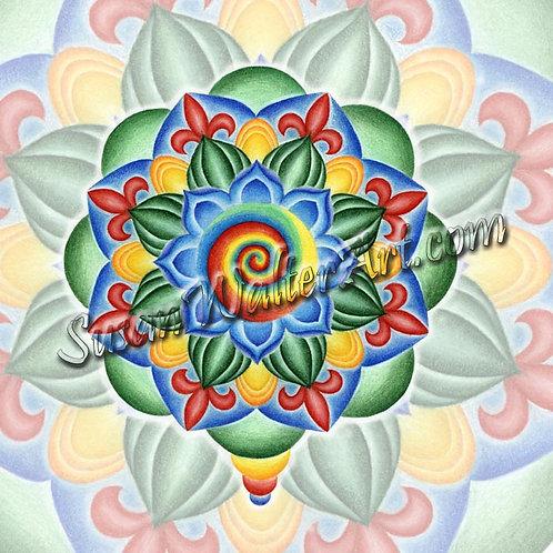 Solfeggio Mandala 135Hz, Karmic Reset