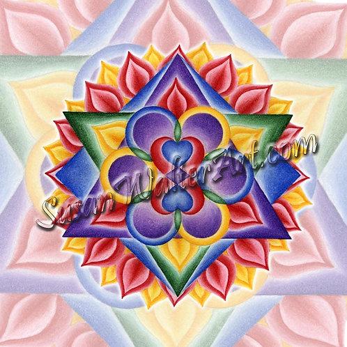 Solfeggio Mandala 579Hz, DNA Awakening