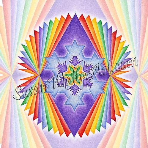 Solfeggio Mandala 849Hz, Starseed Contract