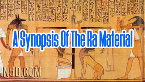 A Synopsis Of The Ra Material – The Law Of One Book Series