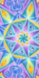 Solfeggio Mandala Healing Art
