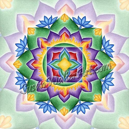 Solfeggio Mandala 471Hz, Change - Transformation - Evolution