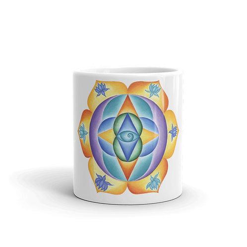 Mug Solfeggio Mandala 111Hz
