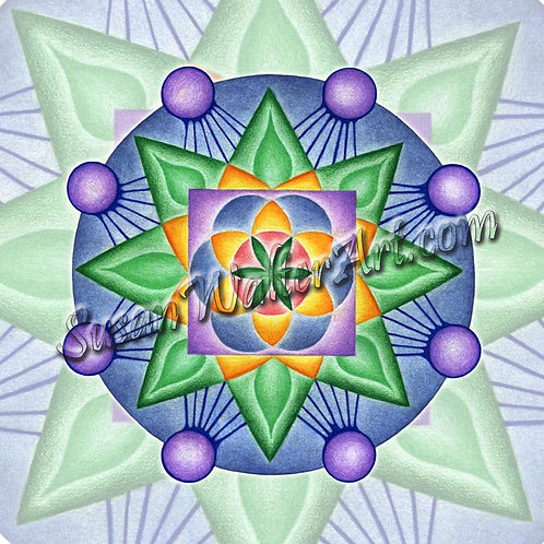 Solfeggio Mandala 159Hz, Initiation into the Fabric of the Universe