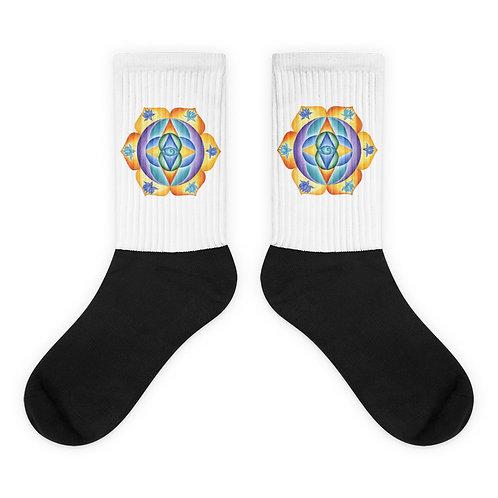 Socks Solfeggio Mandala 111Hz
