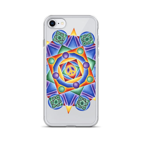 iPhone Case Solfeggio Mandala 432Hz