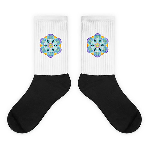 Socks Solfeggio Mandala 528Hz