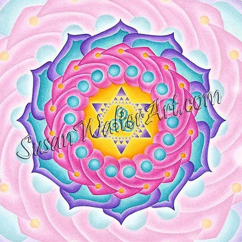 Solfeggio Mandala 936Hz, Uniting Heart & Mind