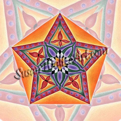 Solfeggio Mandala 555Hz, Changes in Divine Order