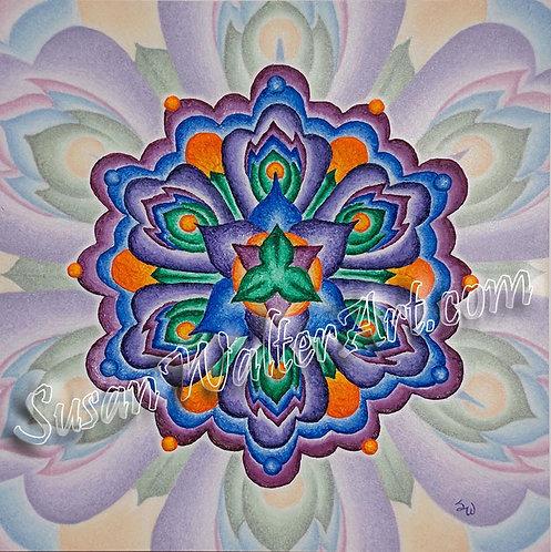Solfeggio Mandala 987Hz, Compassion