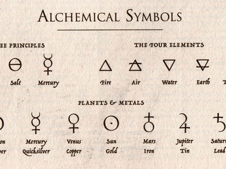 Alchemy, Isaac Newton, and the secret code of the number three