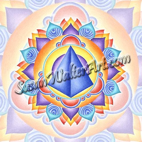 Solfeggio Mandala 753Hz, Awakening to One's Divinity