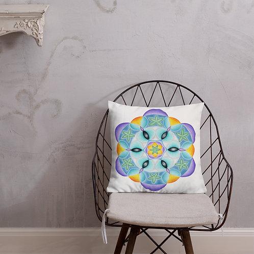 Premium Pillow Solfeggio Mandala 528Hz
