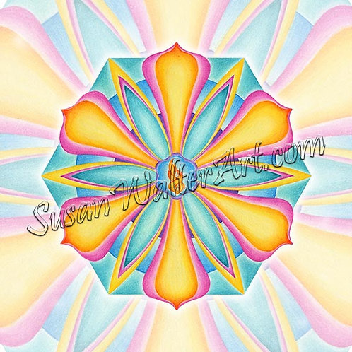 Solfeggio Mandala 495Hz, Finding Peace