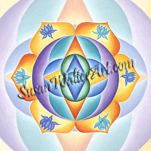 Solfeggio Mandala 111Hz, Cellular Rejuvenation