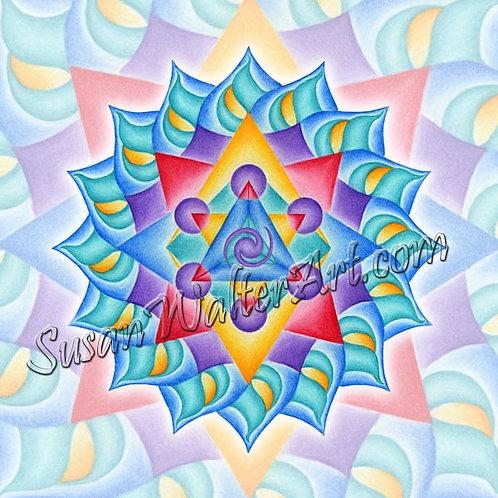 Solfeggio Mandala 912Hz, Healing Self