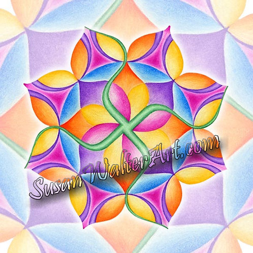 Solfeggio Mandala 147Hz, Karmic Release
