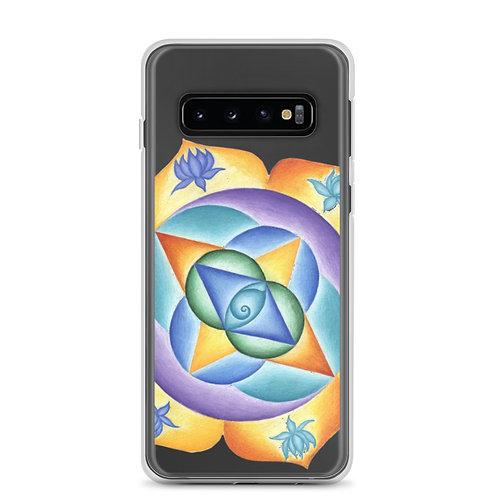 Samsung Case Solfeggio Mandala 111Hz