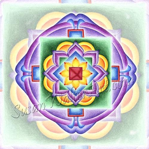 Solfeggio Mandala 789Hz, Awakened Awareness