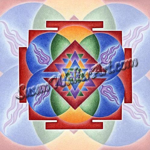 Solfeggio Mandala 837Hz, Spiritual Enlightenment