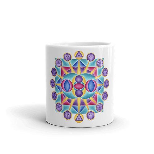 Mug Solfeggio Mandala 765Hz