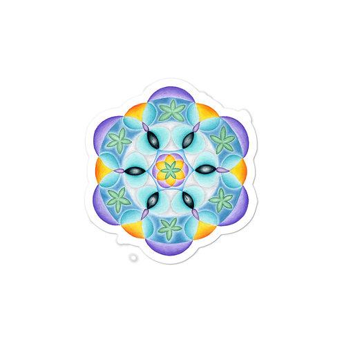 Stickers Solfeggio Mandala 528Hz